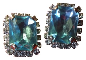 Albert Weiss Aquamarine Stone's Pierced earring