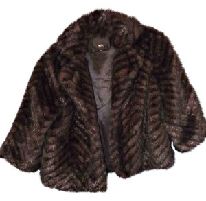 Mossimo Supply Co. Faux Fur Golden Fur Coat
