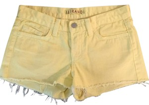 "J Brand Cut Off Shorts ""Bright yellow"""