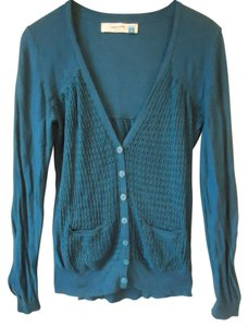 Anthropologie Sparrow Blue Sweater Cardigan