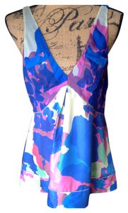 Diane von Furstenberg Top Blue/multicolored