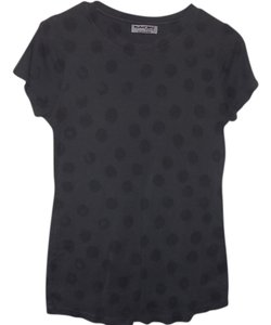 Michael Stars T Shirt gray with black dots