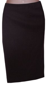 Barneys New York Skirt brown gray