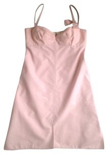 Jil Sander short dress Pastel Pink on Tradesy