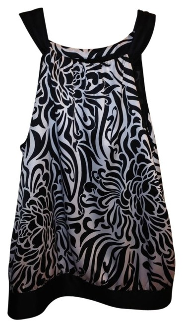 Preload https://item5.tradesy.com/images/ann-taylor-black-and-white-silk-halter-style-blouse-size-petite-6-s-12029-0-0.jpg?width=400&height=650