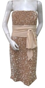 Badgley Mischka Sequin Sheath Dress