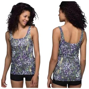 Lululemon New With Tags Lululemon Amala Tank Floral Fswm Size 6