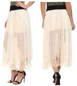 Free People Maxi Skirt Ivory