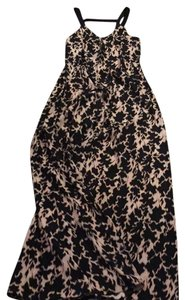 Black/pink Maxi Dress by Thakoon Addition