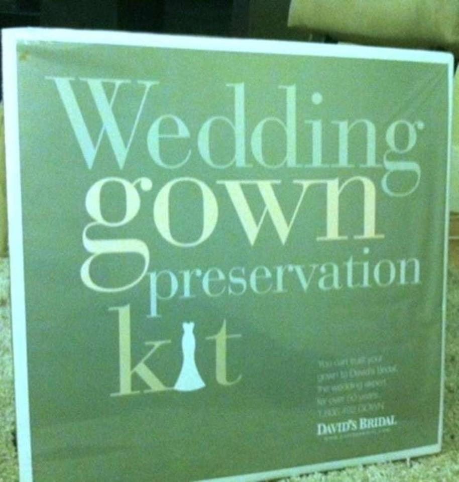 Gown Preservation Kit Wedding Dress Size OS (one size) - Tradesy