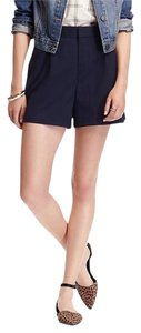 Old Navy High-rise Twill New Dress Shorts Blue