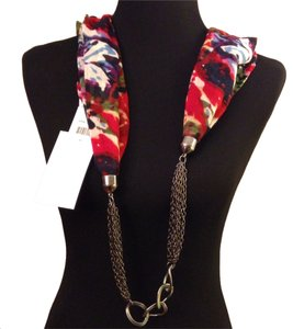 basha Gunmetal Links Jewelry Scarf