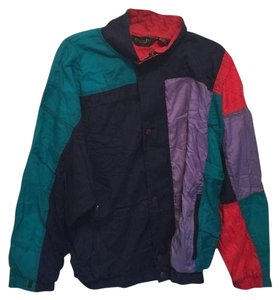 Dior Color Block Color-blocking 80s 90s Red Christian Monsieur Active Track Jacket Hip Casual Designer Jacket