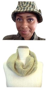 San Diego Hat Company Tweed Hat and Scarf Set