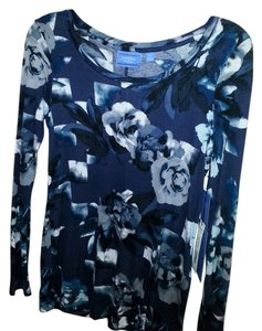 Vera Wang T Shirt dark blue multi/floral