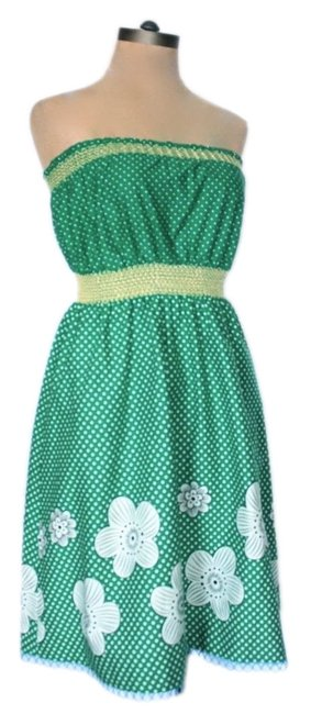 My Michelle short dress Green on Tradesy