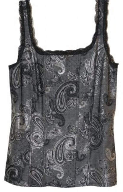 Preload https://item4.tradesy.com/images/white-house-black-market-silver-paisley-tank-topcami-size-8-m-12033-0-0.jpg?width=400&height=650