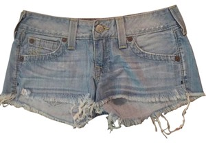 True Religion Cut Off Shorts Light debim