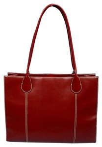 Wilsons Leather Tote in Red