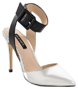 Shoemint Black / Silver Pumps