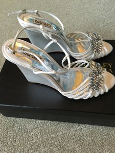 Badgley Mischka Gigi Wedge Wedding Shoes