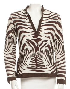 Tory Burch Zebra Tunic