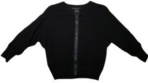 Marc by Marc Jacobs Exposed Zipper Lace Dolman Sleeves Top Black