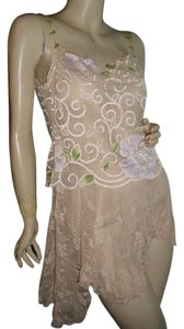 Claire Pettibone short dress beige on Tradesy