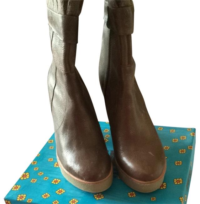 Item - Coco Brown Rubber Sole Boots/Booties Size US 9 Regular (M, B)