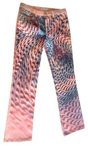 Roberto Cavalli Boot Cut Pants Multi