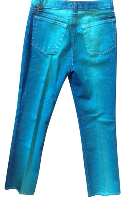 Item - Multi Green They Are Like A Fancy Jean Pants Size 8 (M, 29, 30)