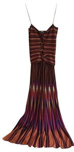 Missoni Evening Flowy Glamourous Keyhole Dress