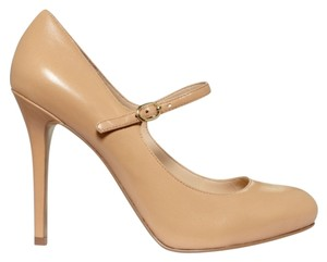 Nine West Mary Jane Nude Pumps