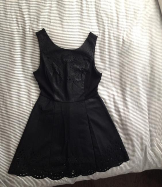 Forever 21 Faux Leather A-line Fall Dress