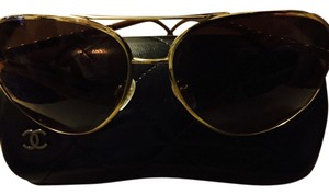 Chanel Chanel Tortoise Aviator Sunglasses