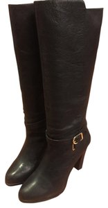 Banana Republic Black Leather Boots