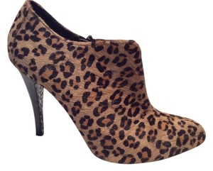 Charles by Charles David Platform Pump Night Out Leopard Pony Hair Boots