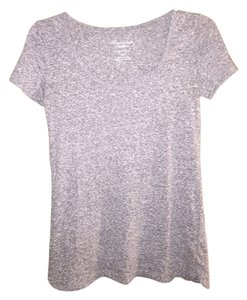 American Eagle Outfitters Casual T Shirt Gray