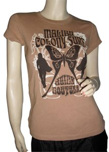 Juicy Couture T Shirt beige and black