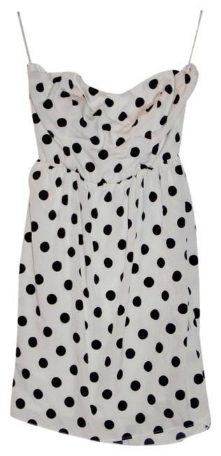 Lulu*s short dress Black/White Polka Dots on Tradesy