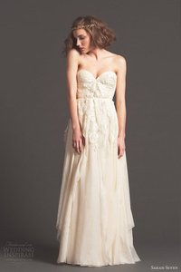 Sarah Seven Cascade Wedding Dress
