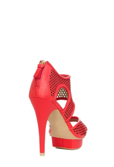 JustFab red Sandals