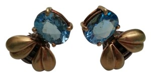 Saint by Sarah Jane SALE!!! Saint By Sarah Jane Blue Topaz Bee Motif Earrings