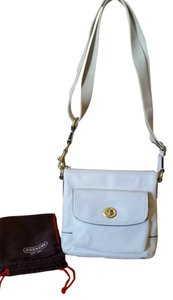 Coach Dustcover Ponytail Scarf Pockets Cross Body Bag