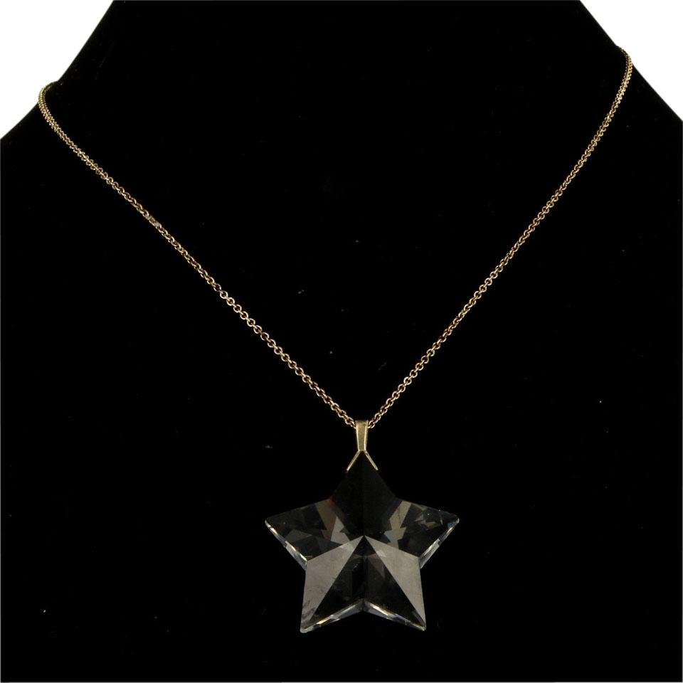 Tiffany co rock crystal star pendant necklace tradesy rock crystal star pendant necklace aloadofball Images