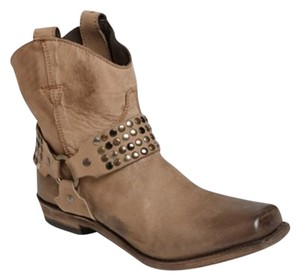 Liberty Black Designer Luxury Western Chic Beige Boots