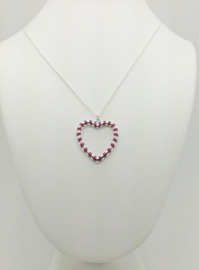 Preload https://img-static.tradesy.com/item/1203859/tiffany-and-co-sterling-silver-paloma-venezia-palina-purple-swirl-heart-pendant-w-chain-necklace-0-0-540-540.jpg