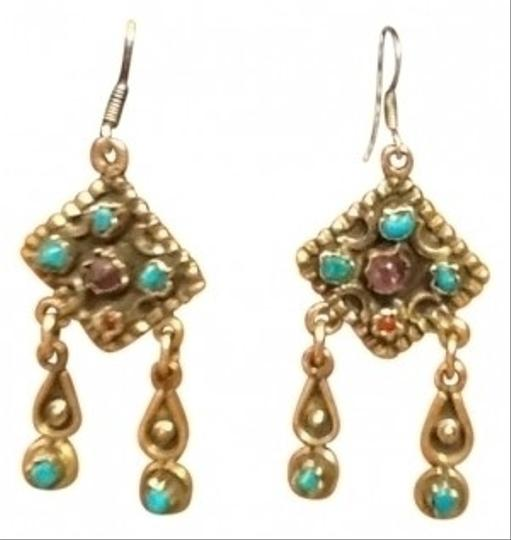 Preload https://img-static.tradesy.com/item/120391/sterling-silver-with-turquoise-drop-earrings-0-0-540-540.jpg