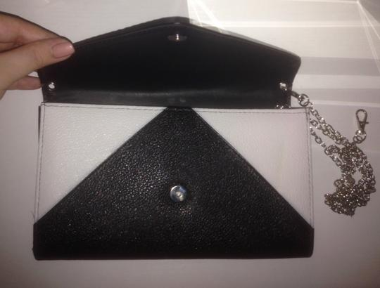 Other Credit Card/ID Coin Holder Wallet on Chain - Black & White