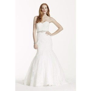 David's Bridal Davids Bridal Lace Dress Wedding Dress
